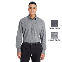 MEN'S TONAL MINI CHECK DRESS SHIRT