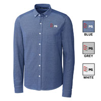 MEN'S REACH OXFORD BUTTON FRONT SHIRT