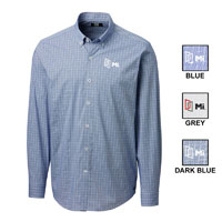 MEN'S SOAR WINDOWPANE CHECK BUTTON DOWN